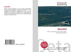 Bookcover of Akanthit