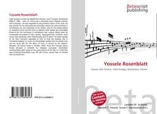 Bookcover of Yossele Rosenblatt