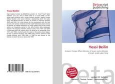Capa do livro de Yossi Beilin