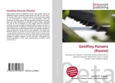 Portada del libro de Geoffrey Parsons (Pianist)