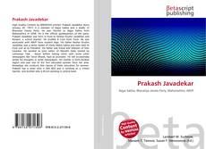 Bookcover of Prakash Javadekar