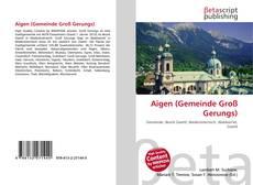Capa do livro de Aigen (Gemeinde Groß Gerungs)