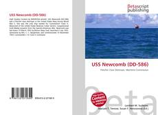 Capa do livro de USS Newcomb (DD-586)