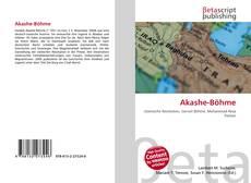 Bookcover of Akashe-Böhme