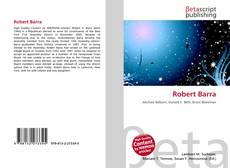 Copertina di Robert Barra