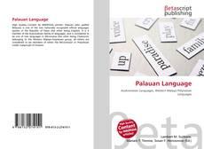 Buchcover von Palauan Language