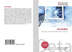 Bookcover of ArticleBot
