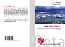 Portada del libro de USS Nitro (AE-23)