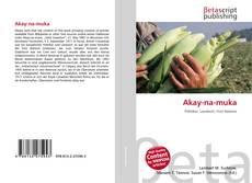 Akay-na-muka的封面