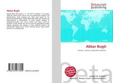 Bookcover of Akbar Bugti