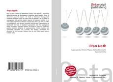 Bookcover of Pran Nath