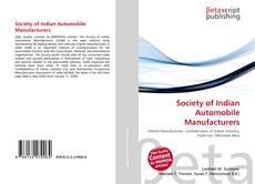 Couverture de Society of Indian Automobile Manufacturers