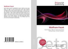 Buchcover von Wolfram Faust