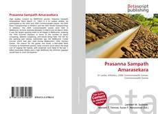 Capa do livro de Prasanna Sampath Amarasekara