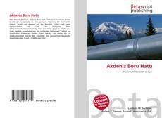 Akdeniz Boru Hattı kitap kapağı
