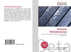 Capa do livro de Prasanna Wickramasuriya