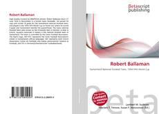 Buchcover von Robert Ballaman
