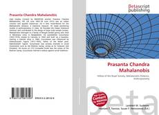 Bookcover of Prasanta Chandra Mahalanobis
