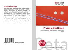 Couverture de Prasanta Chatterjee