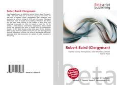 Couverture de Robert Baird (Clergyman)