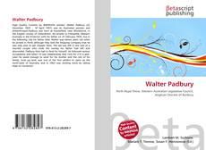 Capa do livro de Walter Padbury