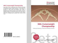 Bookcover of NWL Cruiserweight Championship