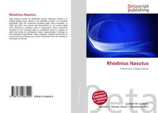 Buchcover von Rhodnius Nasutus