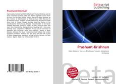 Bookcover of Prashant-Krishnan