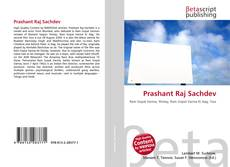 Bookcover of Prashant Raj Sachdev
