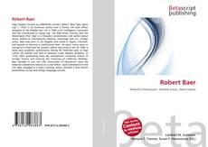 Обложка Robert Baer