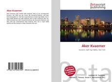 Portada del libro de Aker Kvaerner