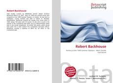 Bookcover of Robert Backhouse