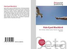 Buchcover von Pale-Eyed Blackbird