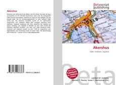 Buchcover von Akershus
