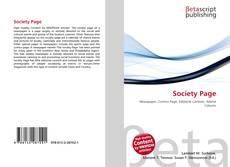 Buchcover von Society Page