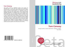 Tom Conway kitap kapağı