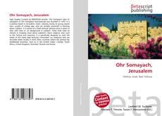 Buchcover von Ohr Somayach, Jerusalem