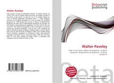Portada del libro de Walter Paveley
