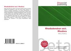 Bookcover of Rhododendron sect. Rhodora