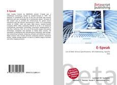 Buchcover von E-Speak
