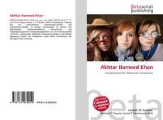 Bookcover of Akhtar Hameed Khan
