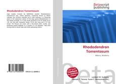 Buchcover von Rhododendron Tomentosum