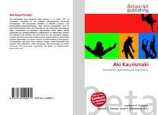 Bookcover of Aki Kaurismaki