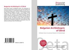 Couverture de Bulgarian Archbishopric of Ohrid