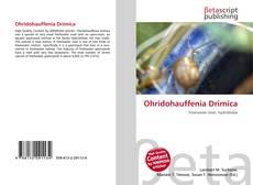 Capa do livro de Ohridohauffenia Drimica