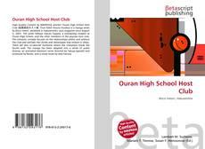 Portada del libro de Ouran High School Host Club