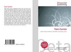 Buchcover von Tom Curren