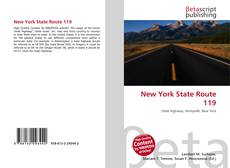 Bookcover of New York State Route 119