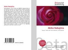 Bookcover of Akiko Nakajima