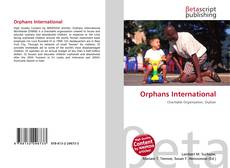 Orphans International kitap kapağı